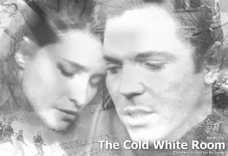 The Cold White Room cover art by Deslea - Nicholas Lea as Alex Krycek, Mimi Rogers as Diana Fowley