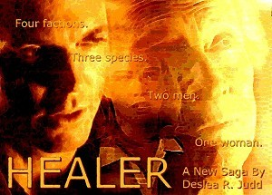 Healer cover art by Deslea