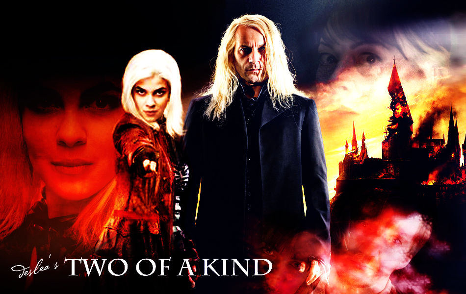 Two of a Kind cover art by Deslea, using an image base by Cute-Ruki with kind permission.