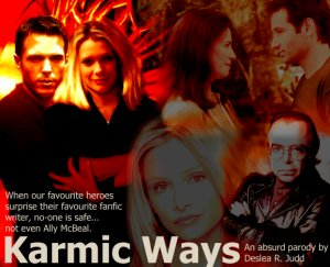 Karmic Ways cover art by Deslea