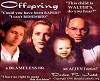Offspring cover.  David Duchovny as Fox Mulder, Gillian Anderson as Dana Scully, Zachary Judd as Melissa Scully, Mitch Pileggi as Walter Skinner.