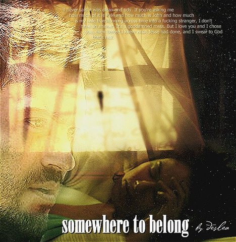 Somewhere to Belong cover art by Deslea.