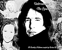 Unbreakable and The Space Between cover art by Deslea.